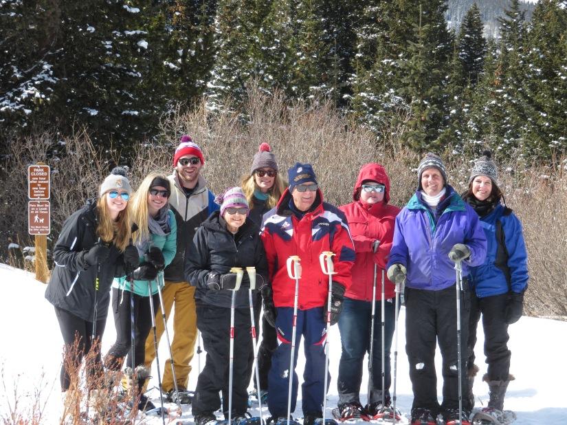 GPGF Snowshoeing